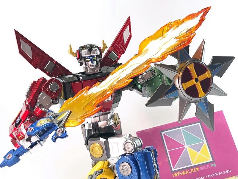 Voltron (Lion Voltron) - Diecast Golion (Icarus Toys / Toyswalker) 01473211