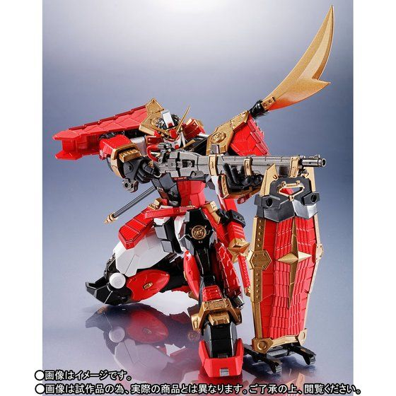 Gundam - Musha - Metal Robot Side MS (Bandai) 10001460