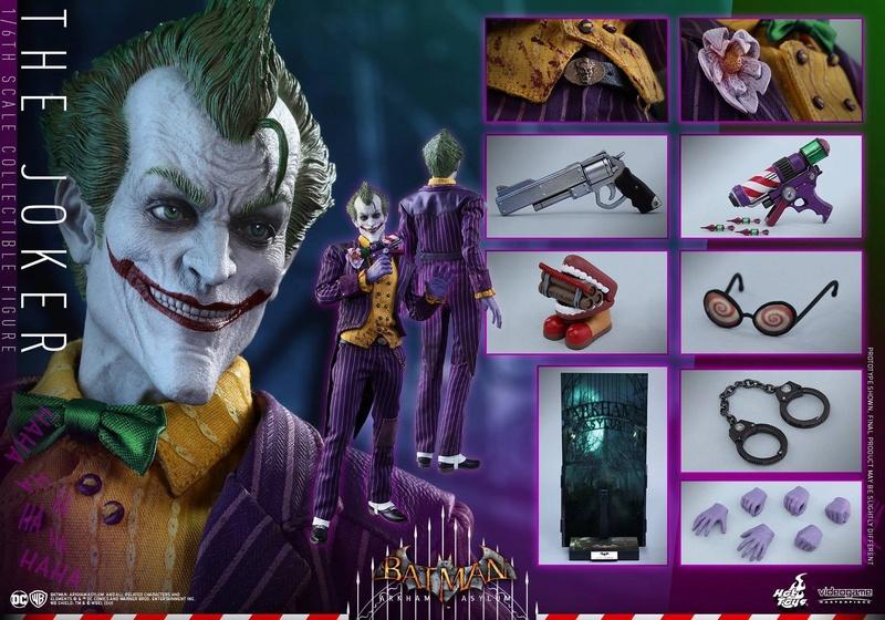 Batman : Arkham Asylum - The Joker Collectible 1/6 (Hot Toys) 13323210