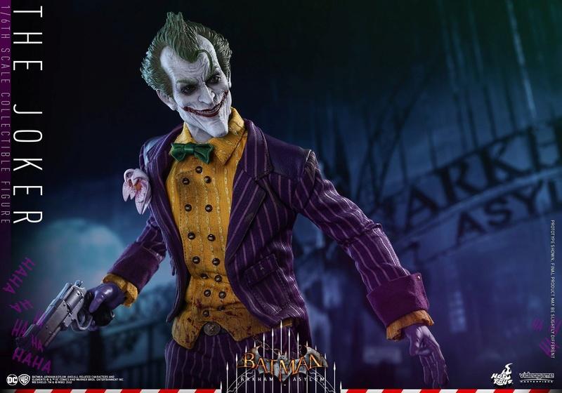Batman : Arkham Asylum - The Joker Collectible 1/6 (Hot Toys) 13330110