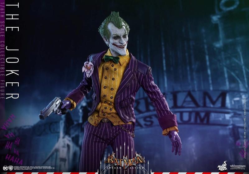 Batman : Arkham Asylum - The Joker Collectible 1/6 (Hot Toys) 13333711