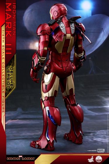 Iron Man 1-  Mark III (3) 1/4 - Deluxe version and normal version (Hot toys) 13363710