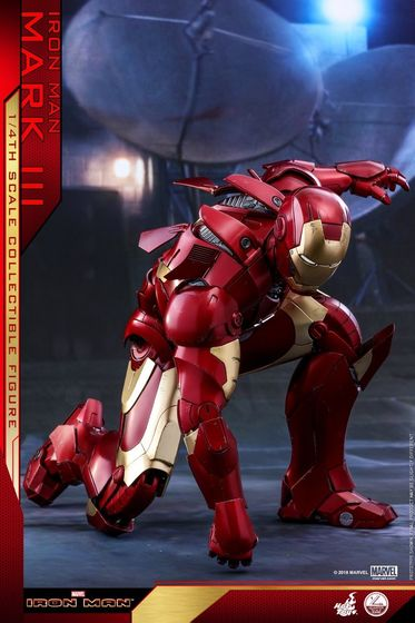 Iron Man 1-  Mark III (3) 1/4 - Deluxe version and normal version (Hot toys) 14363810