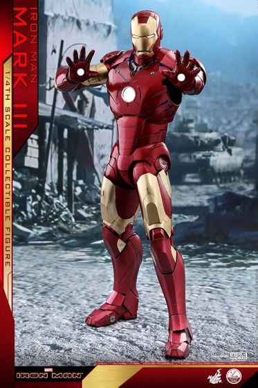 Iron Man 1-  Mark III (3) 1/4 - Deluxe version and normal version (Hot toys) 14370510