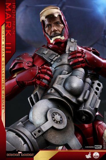 Iron Man 1-  Mark III (3) 1/4 - Deluxe version and normal version (Hot toys) 14381610