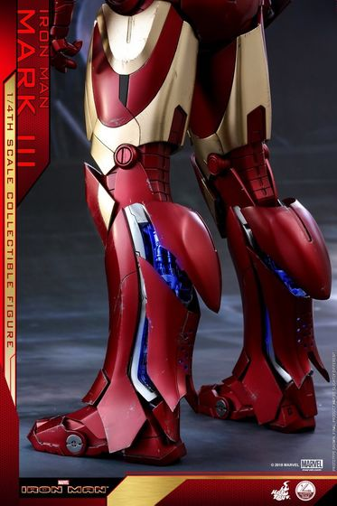 Iron Man 1-  Mark III (3) 1/4 - Deluxe version and normal version (Hot toys) 14382510