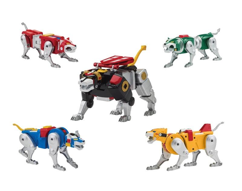 Voltron (Lion Voltron) Classic '84 Legendary Lion (Playmates Toys) 15191810