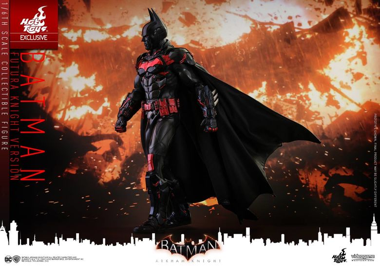 Batman : Arkham Knight - Batman (Futura Knight Version) 1/6 (Hot Toys) 15310611