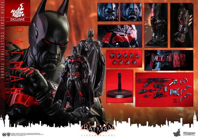 Batman : Arkham Knight - Batman (Futura Knight Version) 1/6 (Hot Toys) 15310711
