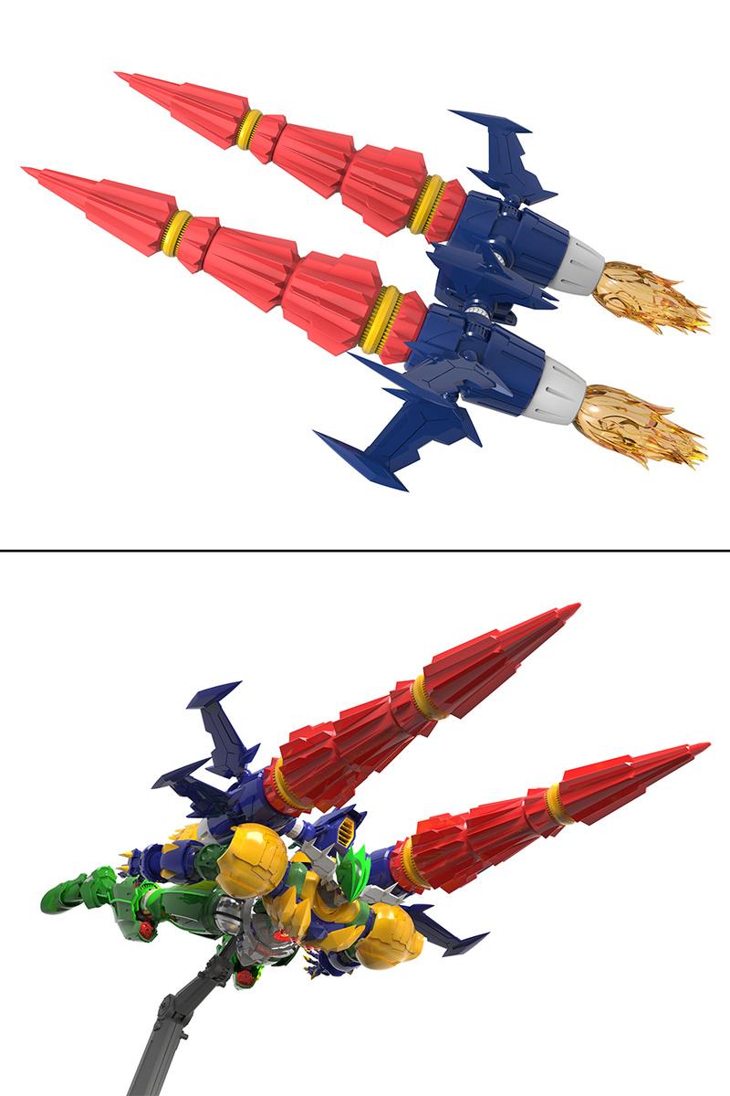 Kotetsu Jeeg (Evolution Toy) 16043911