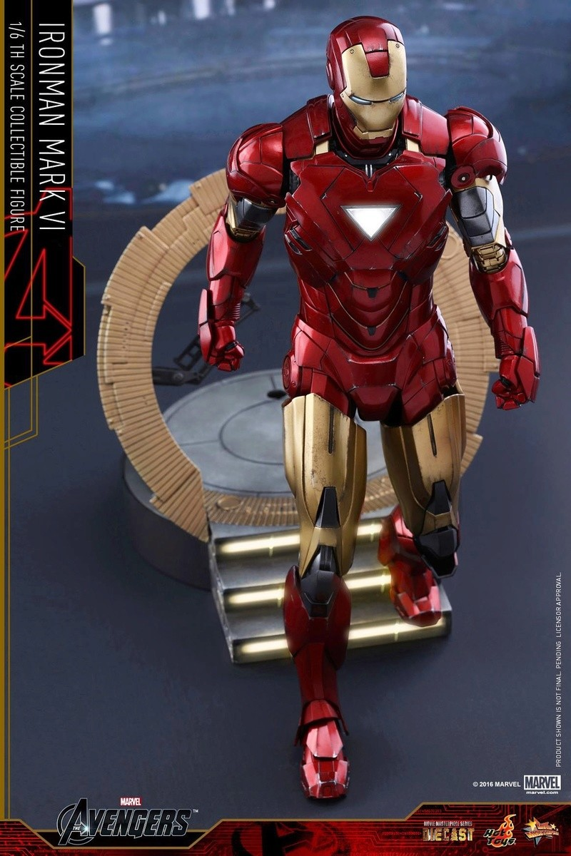 Avengers - Iron Man Mark VI (6) 1/6 (Hot toys) 17032110