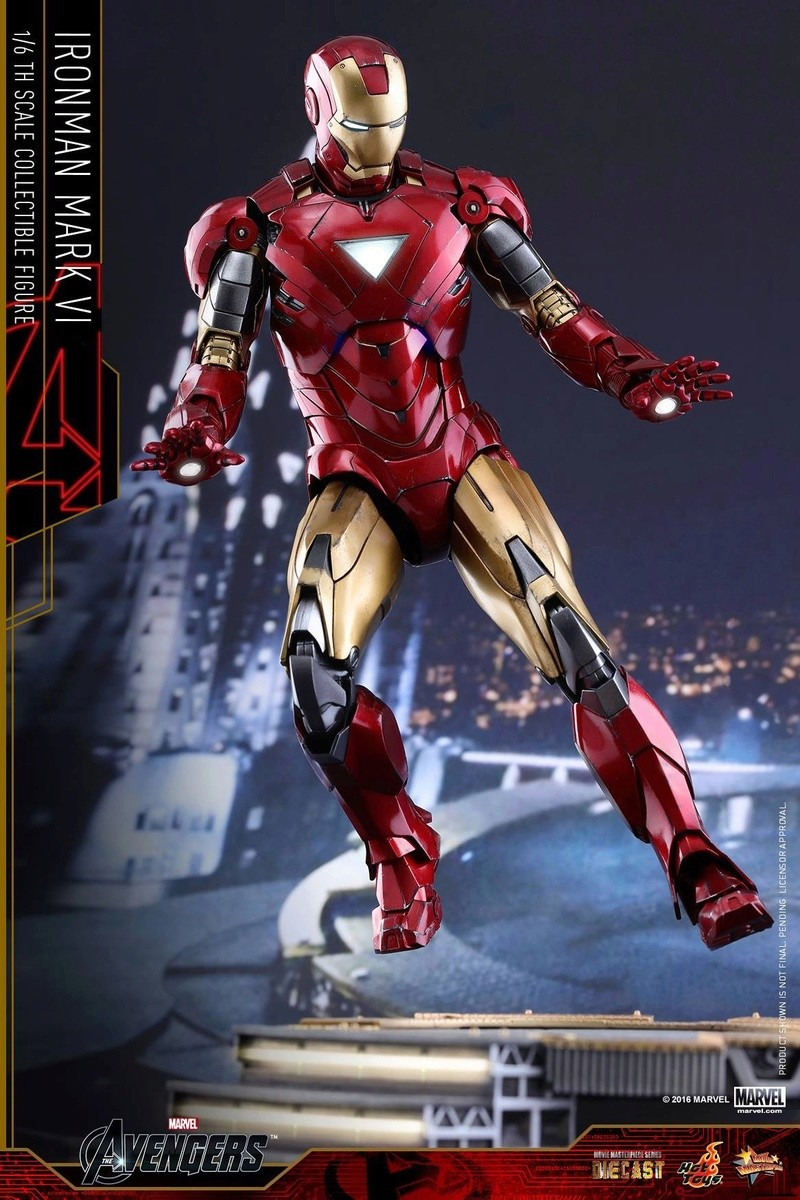 Avengers - Iron Man Mark VI (6) 1/6 (Hot toys) 17033110