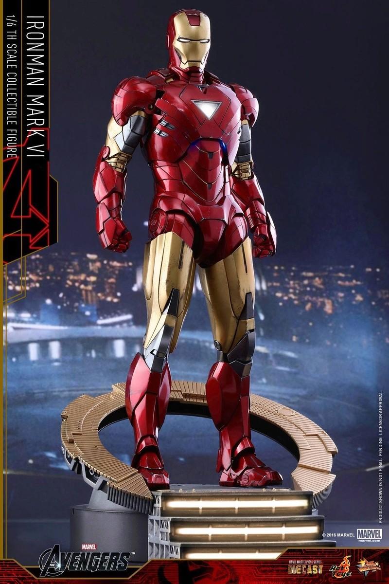 Avengers - Iron Man Mark VI (6) 1/6 (Hot toys) 17034910