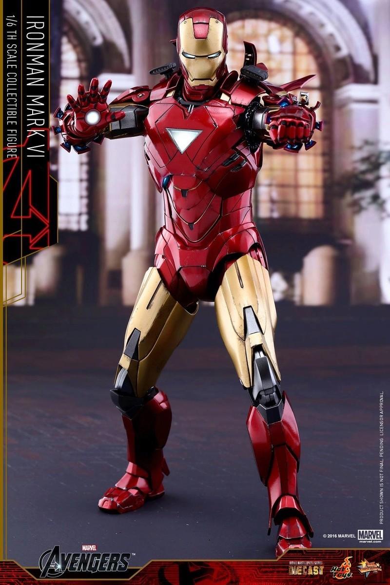Avengers - Iron Man Mark VI (6) 1/6 (Hot toys) 17035710