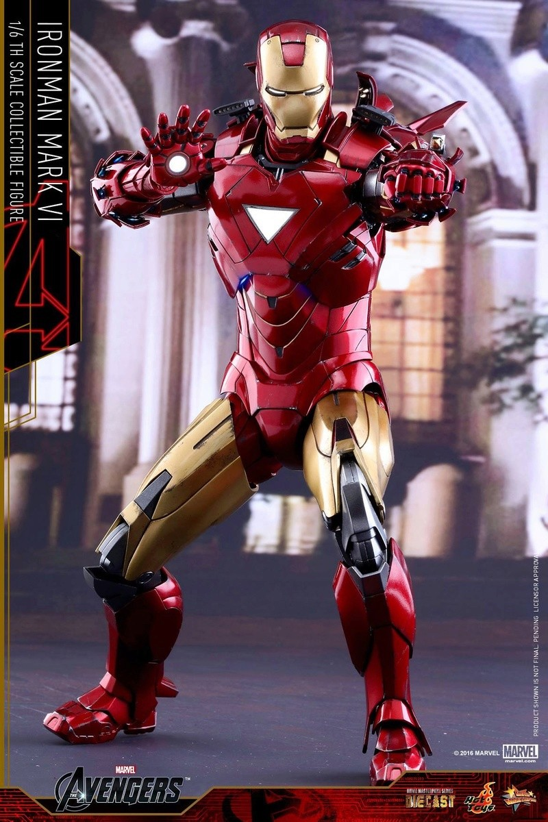 Avengers - Iron Man Mark VI (6) 1/6 (Hot toys) 17040411