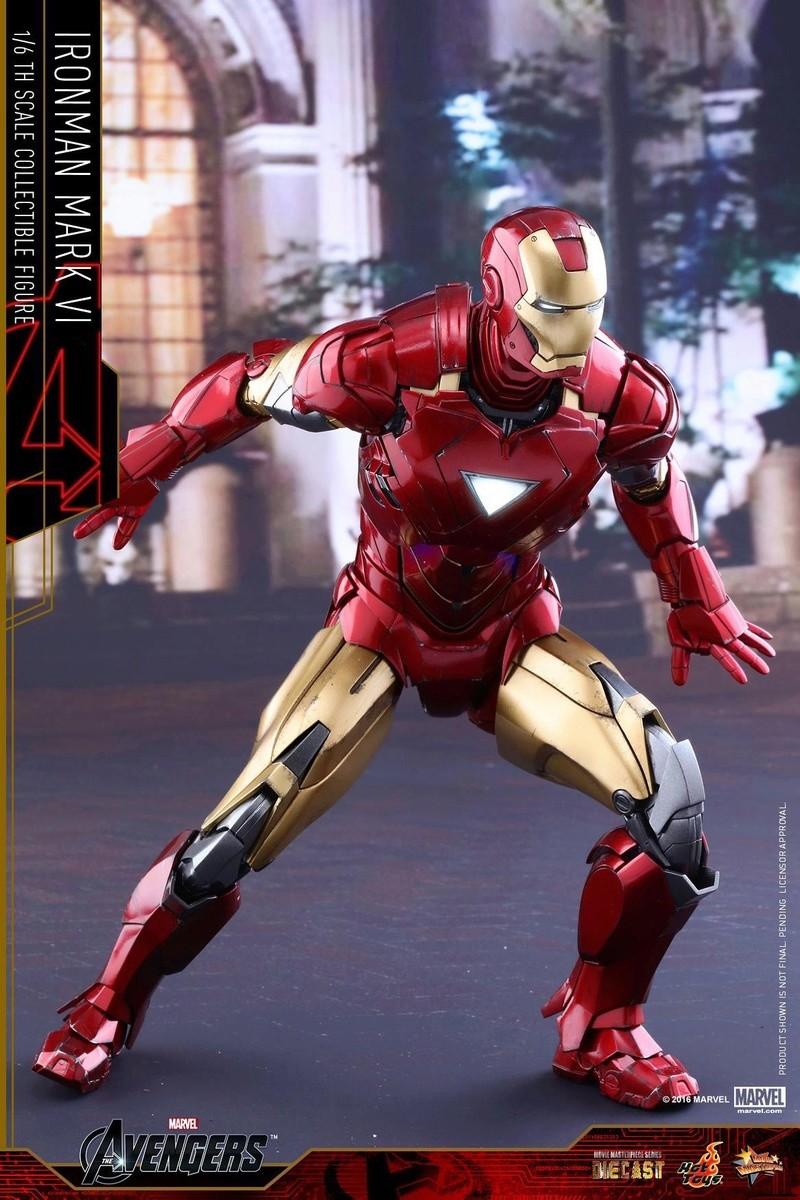 Avengers - Iron Man Mark VI (6) 1/6 (Hot toys) 17043610