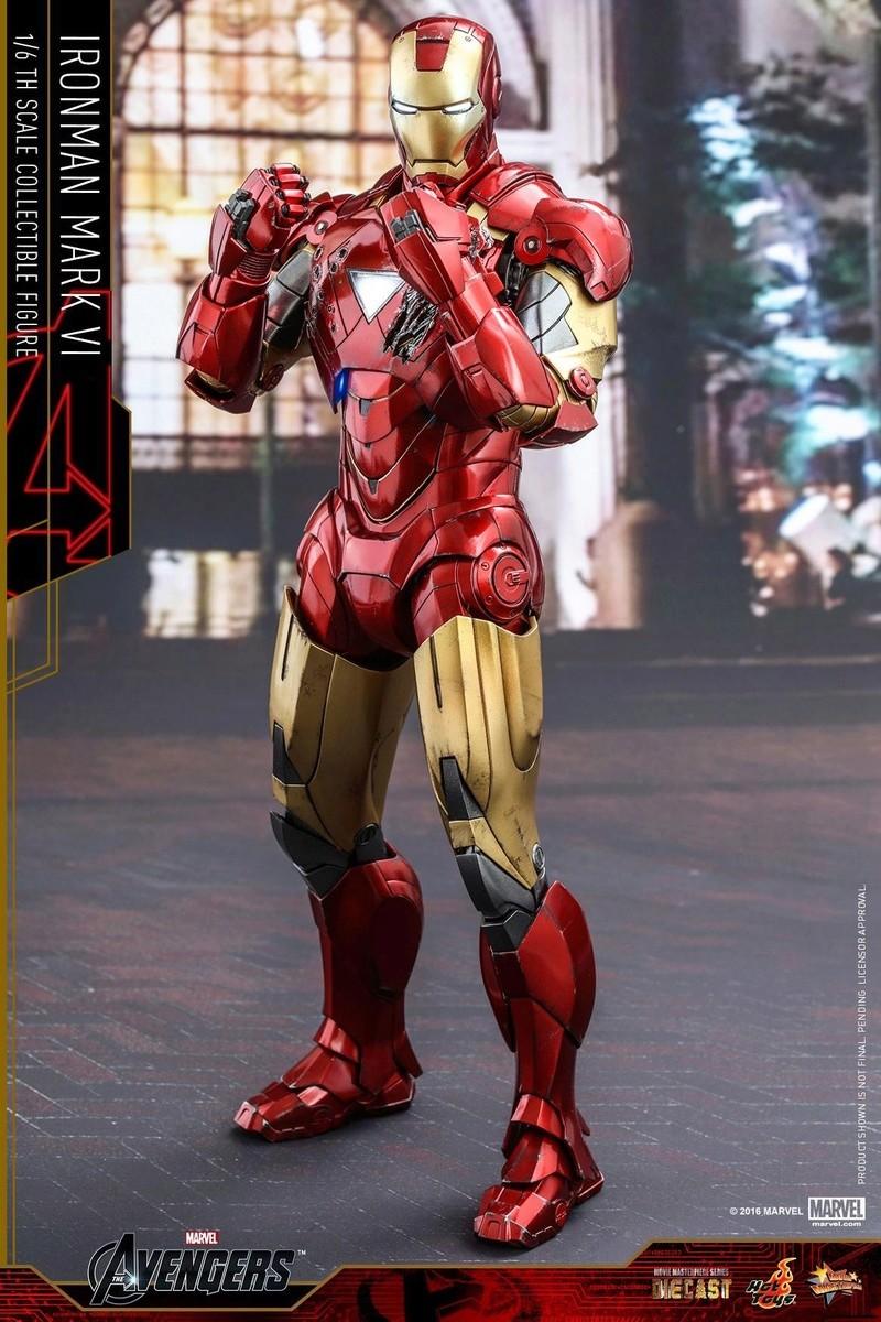 Avengers - Iron Man Mark VI (6) 1/6 (Hot toys) 17063410