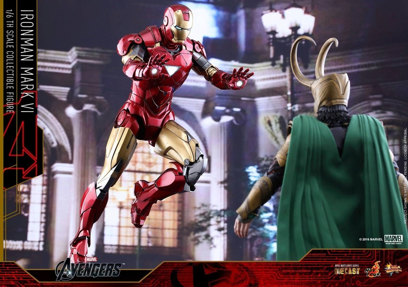 Avengers - Iron Man Mark VI (6) 1/6 (Hot toys) 17064910