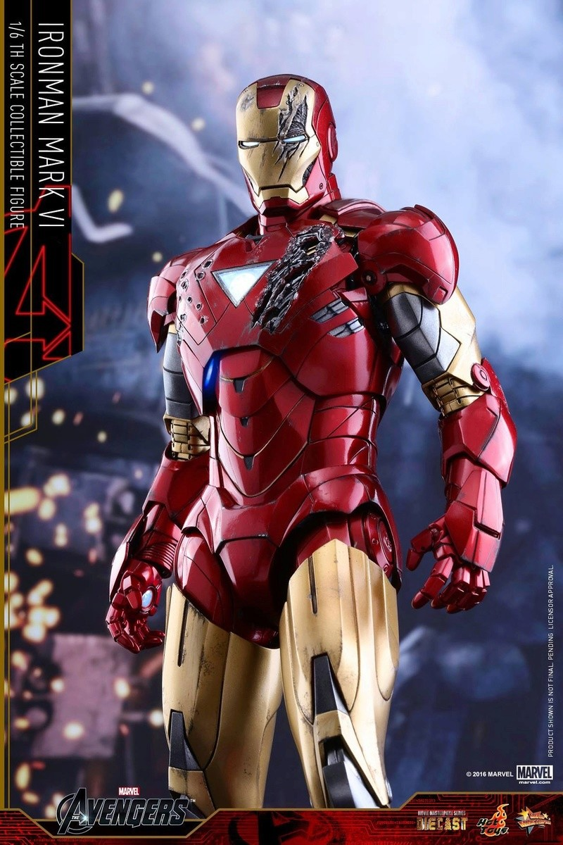 Avengers - Iron Man Mark VI (6) 1/6 (Hot toys) 17065910