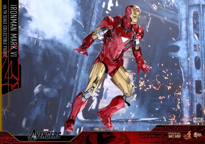 Avengers - Iron Man Mark VI (6) 1/6 (Hot toys) 17071010