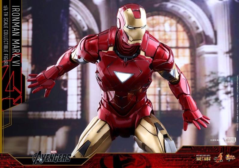 Avengers - Iron Man Mark VI (6) 1/6 (Hot toys) 17071810