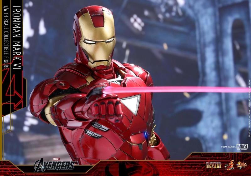 Avengers - Iron Man Mark VI (6) 1/6 (Hot toys) 17073310