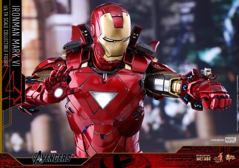 Avengers - Iron Man Mark VI (6) 1/6 (Hot toys) 17074810