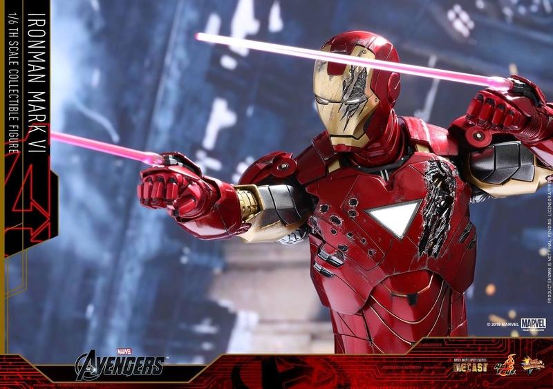 Avengers - Iron Man Mark VI (6) 1/6 (Hot toys) 17075610
