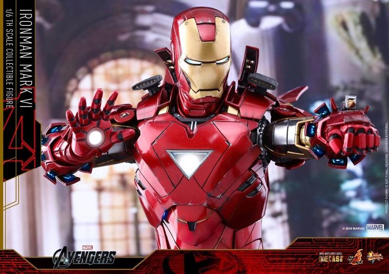 Avengers - Iron Man Mark VI (6) 1/6 (Hot toys) 17080410