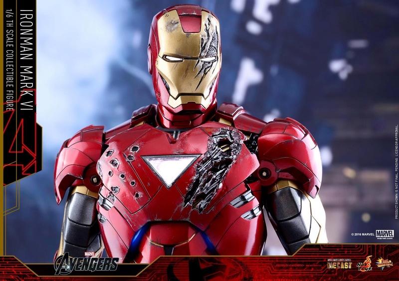 Avengers - Iron Man Mark VI (6) 1/6 (Hot toys) 17081210