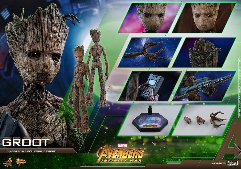 Avengers - Infinity Wars 1/6 (Hot Toys) 17392027