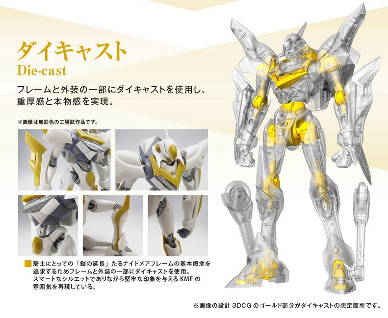 "Gundam : Code Geass - Metal Robot Side KMF ""The Robot Spirits"" (Bandai) 19122211"