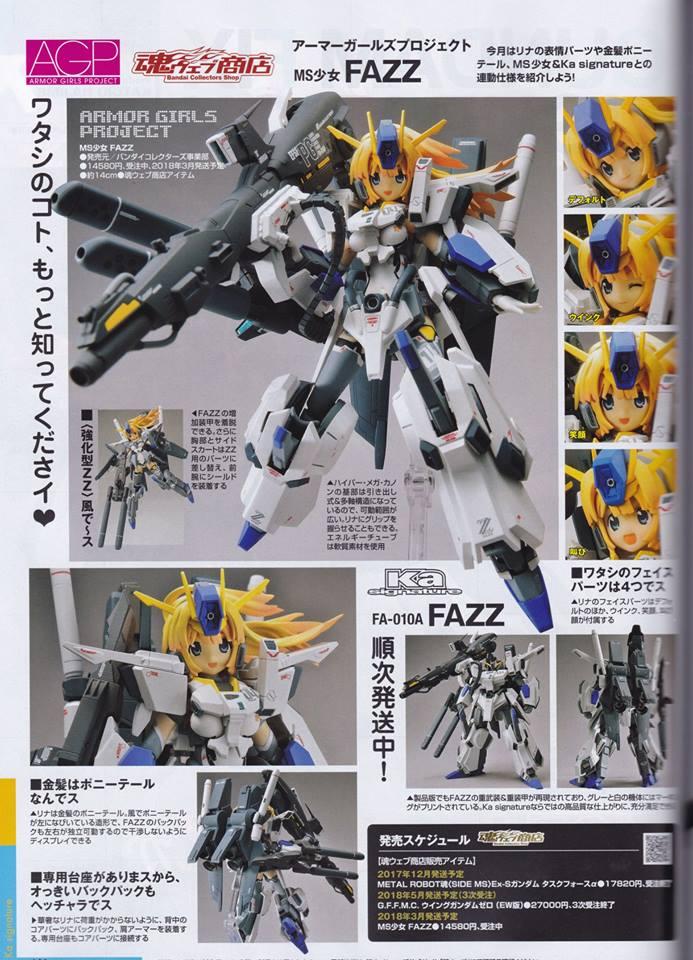 Gundam Fix Figuration AGP (Armor Girls Project) - Page 3 19351612