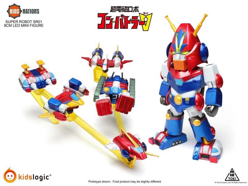Chōdenji Robo Combattler V (Kids Logic) 21303310