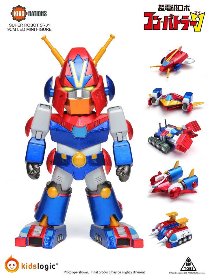 Chōdenji Robo Combattler V (Kids Logic) 21303312