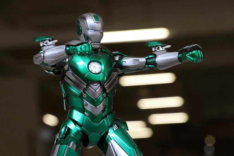 Iron Man 3 - Mark XXXI / Mark 31 : Piston 1/9 Diecast (King Arts) 22122610