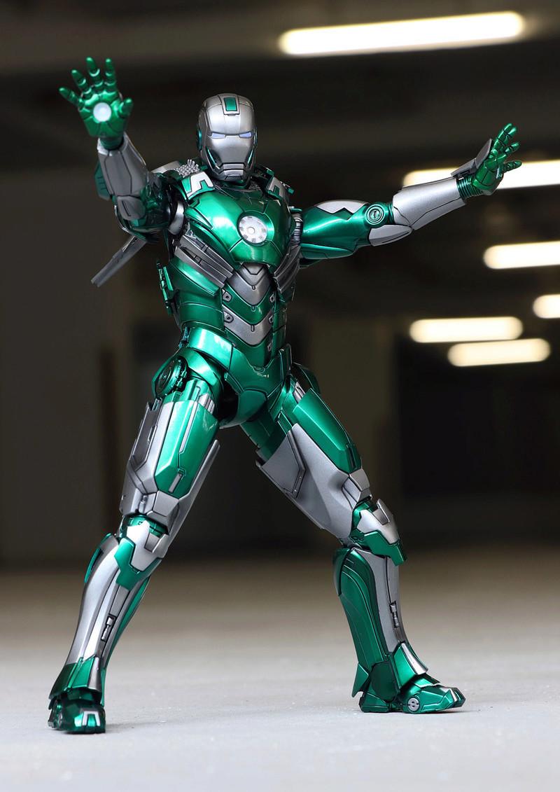 Iron Man 3 - Mark XXXI / Mark 31 : Piston 1/9 Diecast (King Arts) 22122711