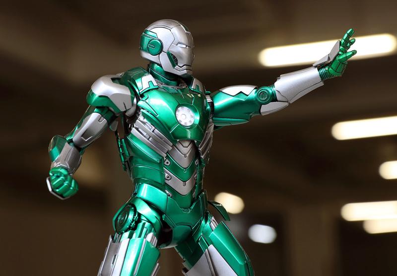 Iron Man 3 - Mark XXXI / Mark 31 : Piston 1/9 Diecast (King Arts) 22122811