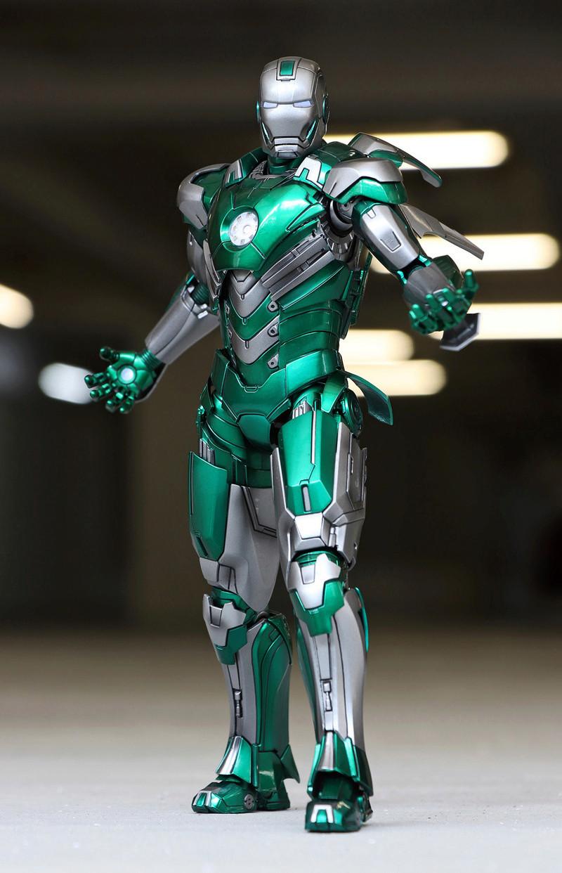 Iron Man 3 - Mark XXXI / Mark 31 : Piston 1/9 Diecast (King Arts) 22123010