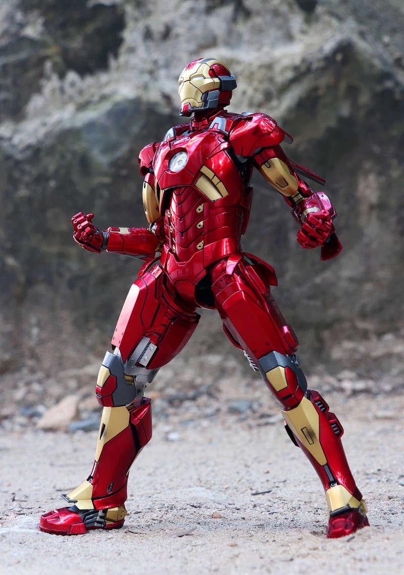 Iron Man 3 - Mark XI / Mark 11 1/9 Diecast (King Arts) 22292310