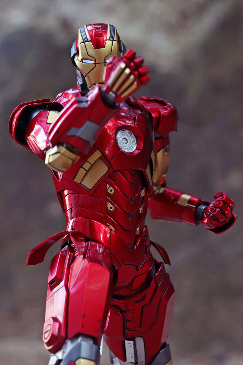 Iron Man 3 - Mark XI / Mark 11 1/9 Diecast (King Arts) 22292410