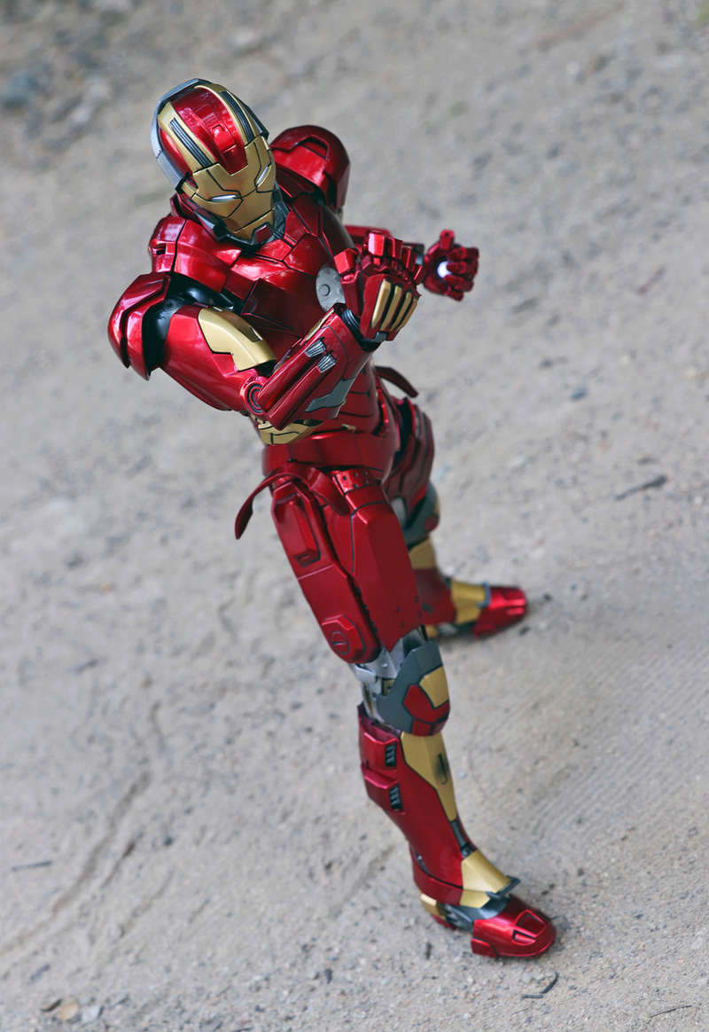 Iron Man 3 - Mark XI / Mark 11 1/9 Diecast (King Arts) 22292411
