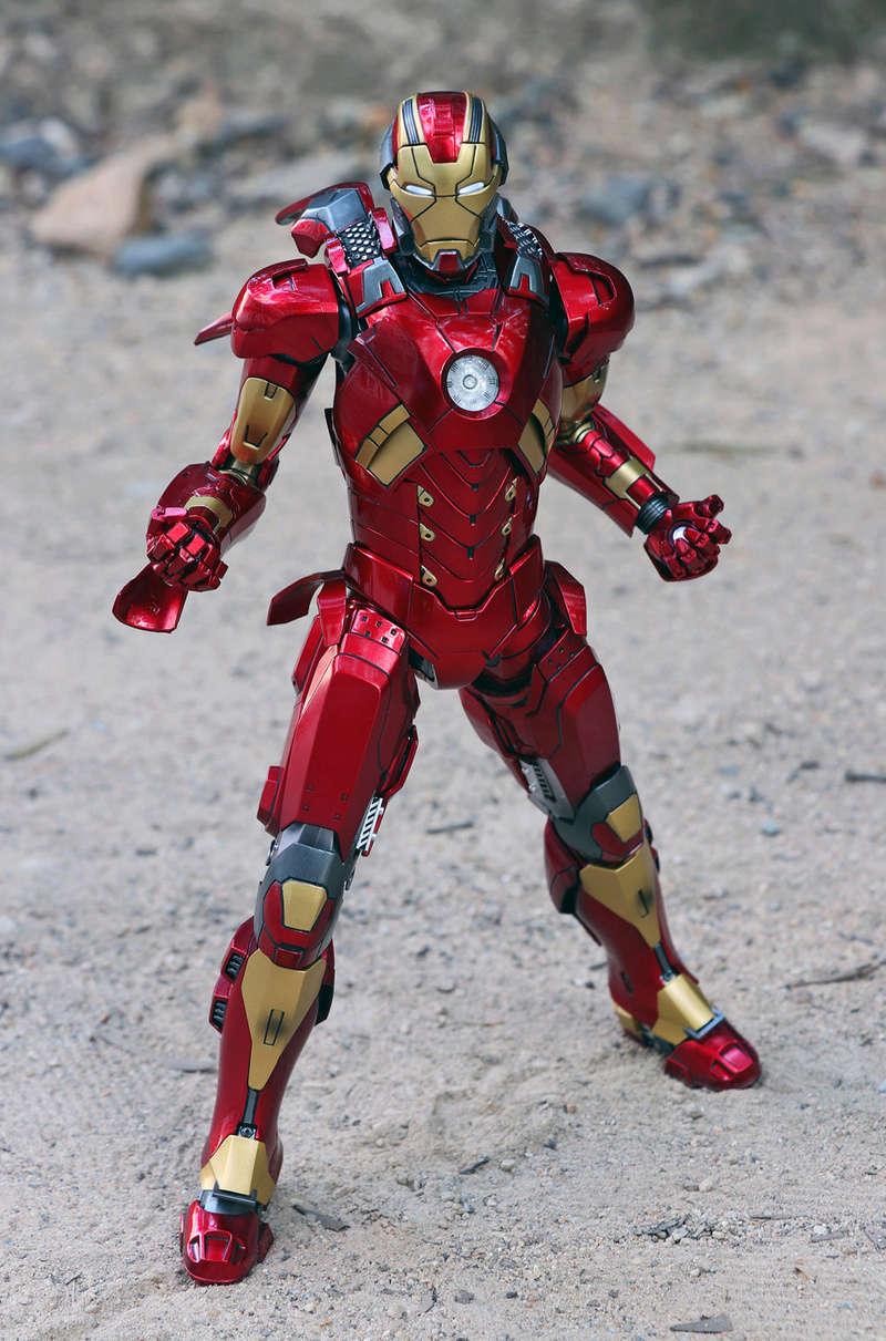 Iron Man 3 - Mark XI / Mark 11 1/9 Diecast (King Arts) 22292412