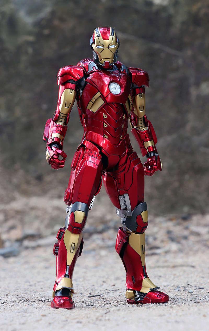 Iron Man 3 - Mark XI / Mark 11 1/9 Diecast (King Arts) 22292511