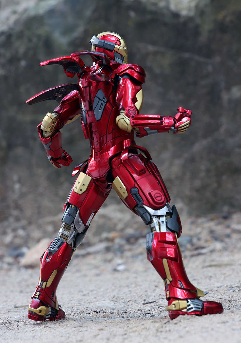 Iron Man 3 - Mark XI / Mark 11 1/9 Diecast (King Arts) 22292512