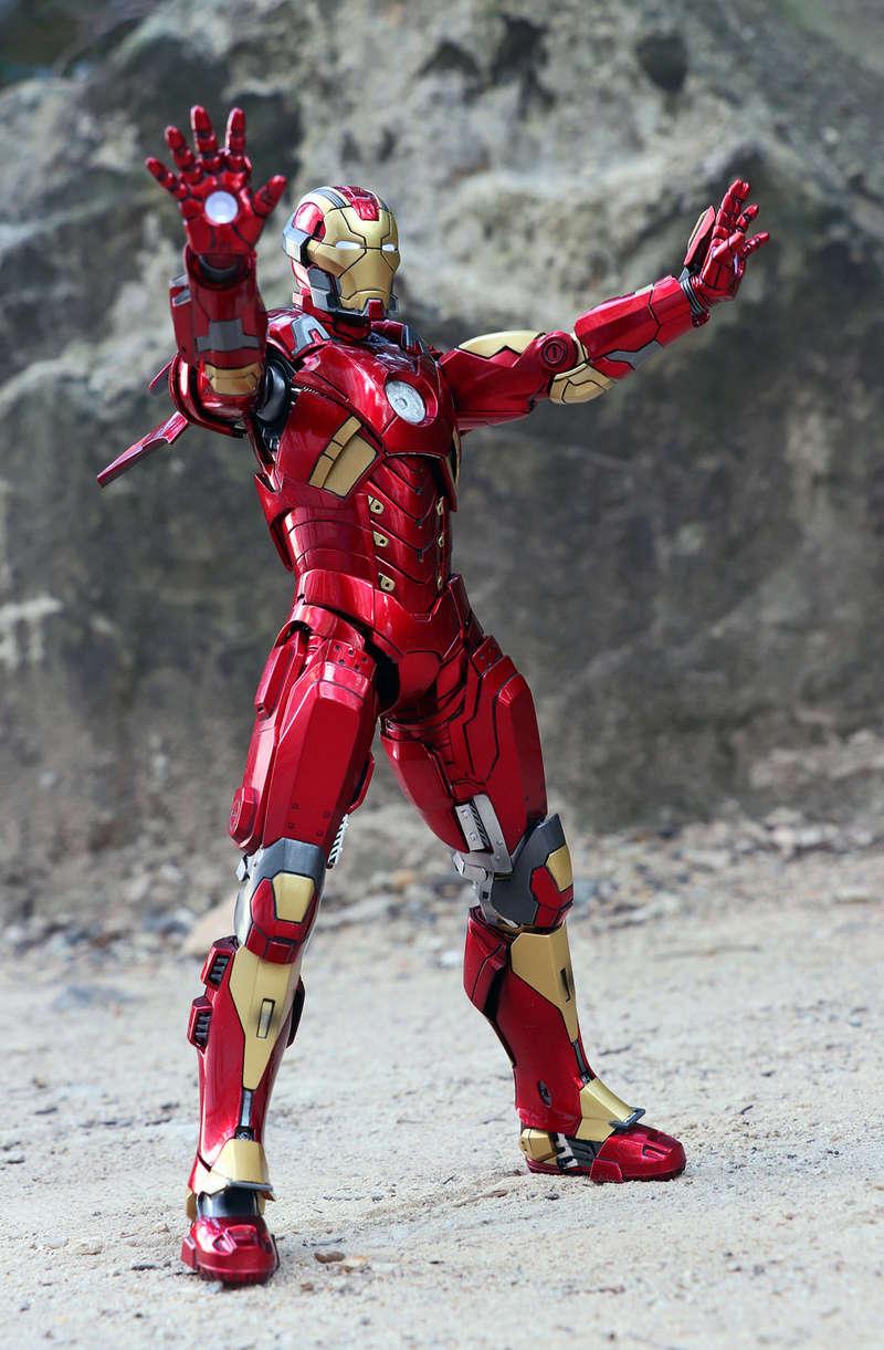 Iron Man 3 - Mark XI / Mark 11 1/9 Diecast (King Arts) 22292513