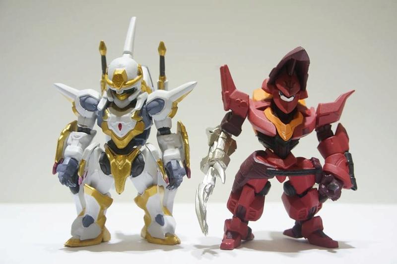 Gundam Converge : Mechanics Code Geass (Bandai) 22730410