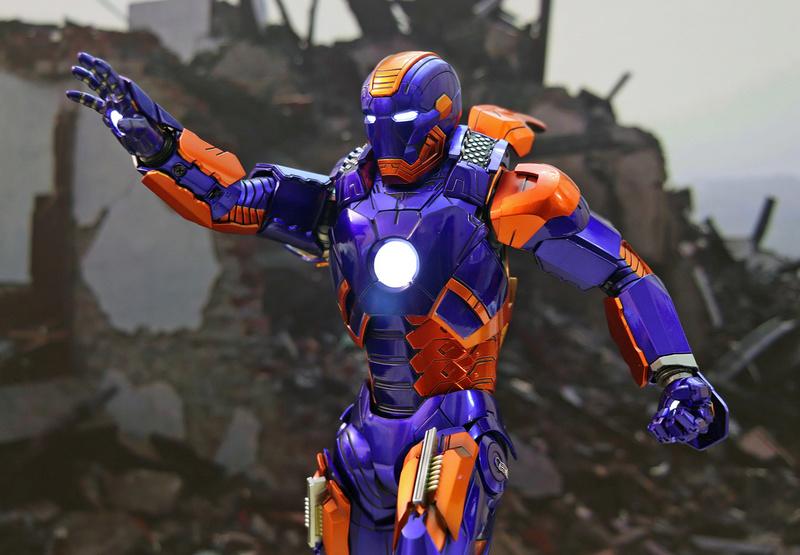Iron Man 3 - Iron Man Mark XXVII (27) 1/6 (Hot toys) 23184610