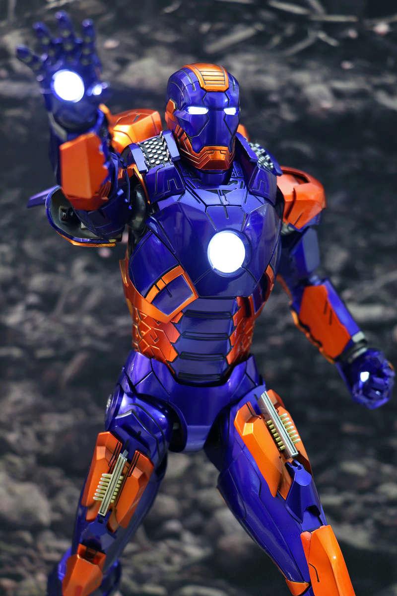 Iron Man 3 - Iron Man Mark XXVII (27) 1/6 (Hot toys) 23184611