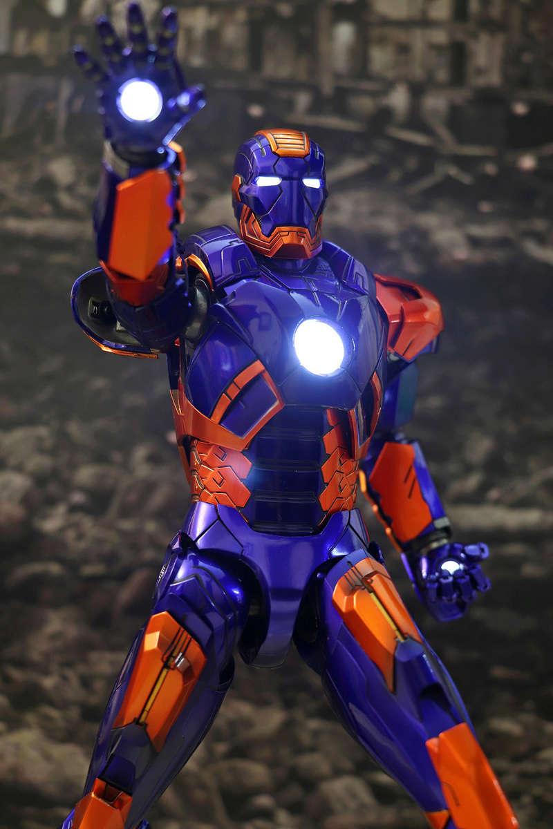 Iron Man 3 - Iron Man Mark XXVII (27) 1/6 (Hot toys) 23184710